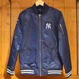 【2016AW新作】サテン MA-1ジャケット