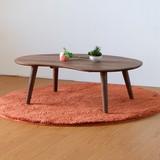 テーブル 幅100cm(ダークブラウン)【MO-09】