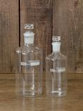 【ガラス容器】ストッパー付きガラスボトル 2サイズ展開