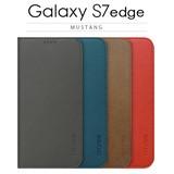 【 Galaxy S7 edge ケース】手帳型 MUSTANG(マスタング)