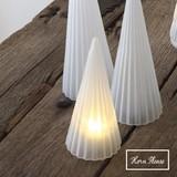【SALE】【秋冬新作】GLASS LEDライト フロストツリー ストライプ クリスマス