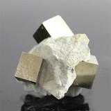 スペイン産 母岩付き パイライト結晶 原石 鉱物【FOREST 天然石 パワーストーン】