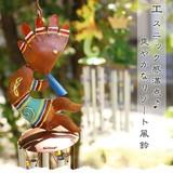 エスニック感満点♪爽やかなリゾート風鈴【バリ島のアイアン風鈴】アジアン雑貨