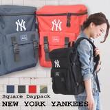 【当社生産 国内ライセンス】ヤンキース スクウェア リュック バックパック バッグ 鞄 傘 吸水速乾