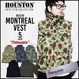 【2016年秋冬新作】【HOUSTON】モントリオール ベスト(MONTREAL VEST)