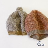 【SALE】【秋冬新作】[ニット帽]キッズ ベレーキャップ リングレット