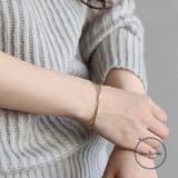 【秋冬新作】[ブレスレット]ブレスレット ハンド ツイスト