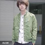 【予約販売】(9月納品)【2016AW新作】【Revo.】ヘビーナイロン MA-1ジャケット