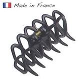 超定番のスケルトンデザインのフランス製ミニバンスクリップ
