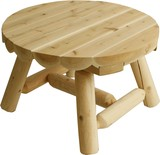 Cedar Looks ラウンドコーヒーテーブル NO9