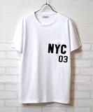 【2016年春夏新作】【人気商品】NYC03貼り付け Tee
