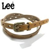 値下げしました!【Lee】大人気ブランドの15mm幅レディースベルトです