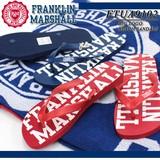 ◆お買い得春夏商材◆★最終処分★FRANKLIN&MARSHALL BIGロゴ ビーチサンダル<ラスト3点>