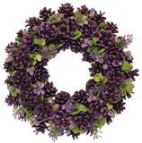 【2016クリスマス先行】クリスマスリース Purple Pine  S/M