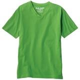 【メンズ】VネックカラーTシャツ(半袖) 【大きいサイズも展開】