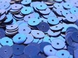 特別価格品【フランス製】 ヴィンテージスパンコール 6mm丸型 キラキラミッドナイトブルー