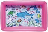 ★特価品ビニールプール★すいぞくかん角型プール100×65CM ピンク