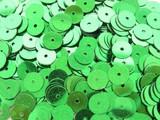 特別価格品【フランス製】 ヴィンテージスパンコール 6mm丸型 キラキラグリーン