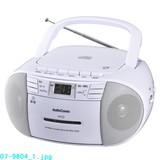 【信頼のOHMブランド】CDラジオカセットレコーダー550シリーズ