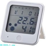 【信頼のOHMブランド】温湿度計 インフル&熱中症警告機能付