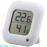【信頼のOHMブランド】デジタル温湿度計 TEM−100