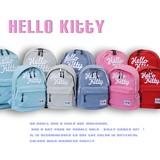 【当社生産 国内ライセンス】ハロ−キティ スウェット リュック バッグ 鞄 刺繍 ねこ