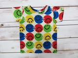 2015251 カラフルスマイルTシャツ