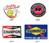Racing Sticker Water Resistant Processing 3 Types