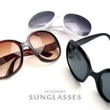 ビッグフレームサングラス 【UVカット仕様】大きめフレームで小顔効果♪