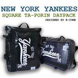 【当社生産 国内ライセンス】ヤンキース タ−ポリン デイパック リュック バッグ ねこ ムーミン 吸水速乾