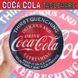 コカコーラ メラミンプレート レトロ * プラスチック製のお皿です♪