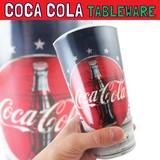 コカコーラ メラミンタンブラー レトロ * アメリカンサイズの大きめプラスチック製カップです!