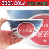 コカコーラ メラミンボウル レトロ * プラスチック製のお椀型の食器です♪