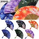風流な布扇子 〜花と蝶〜【和柄/浴衣/和装小物/雑貨】