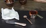 ■【JUST SLATE】ソースパン&ナイフセット