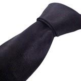 シルク100%9.5cm幅(冠婚葬祭)紳士ネクタイフォーマル(ブラック)
