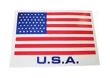 アメリカ国旗の大きめステッカー【USA LARGE STICKER】
