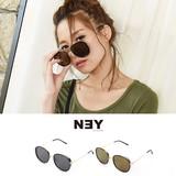 ◆[UV対策]ゴールドフレームサングラス/眼鏡/雑貨/アクセ/小物◆423713
