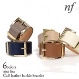 Case Attached Real Leather Buckle Bracelet Genuine Leather Real Leather