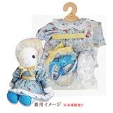 【メイビーラビット】着せ替え用ドレスセット ボンネットドレスL(3色)