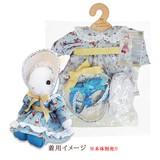 【メイビーラビット】着せ替え用ドレスセット ボンネットドレスM(3色)