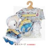 【メイビーラビット】着せ替え用ドレスセット ボンネットドレスS(3色)