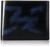 【日本製】【レザー】匠の逸品 ガラス加工本革 山万 小銭入れ付札入