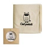 【Owl Products】ハンカチ(owl)