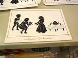 [ドイツ] 切り絵のカード お祝い