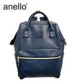 anello Gold Metal Fittings Base Synthetic Leather Backpack