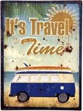 アンティークエンボスプレート[It's Travel Time]