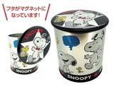 【SNOOPY】スヌーピークッキーマグネットカン