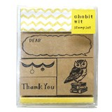 【chobit wit】スタンプセット(owl)