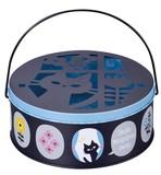 蚊遣り缶 キャット フラワー【蚊やり】【猫】【ネコ】